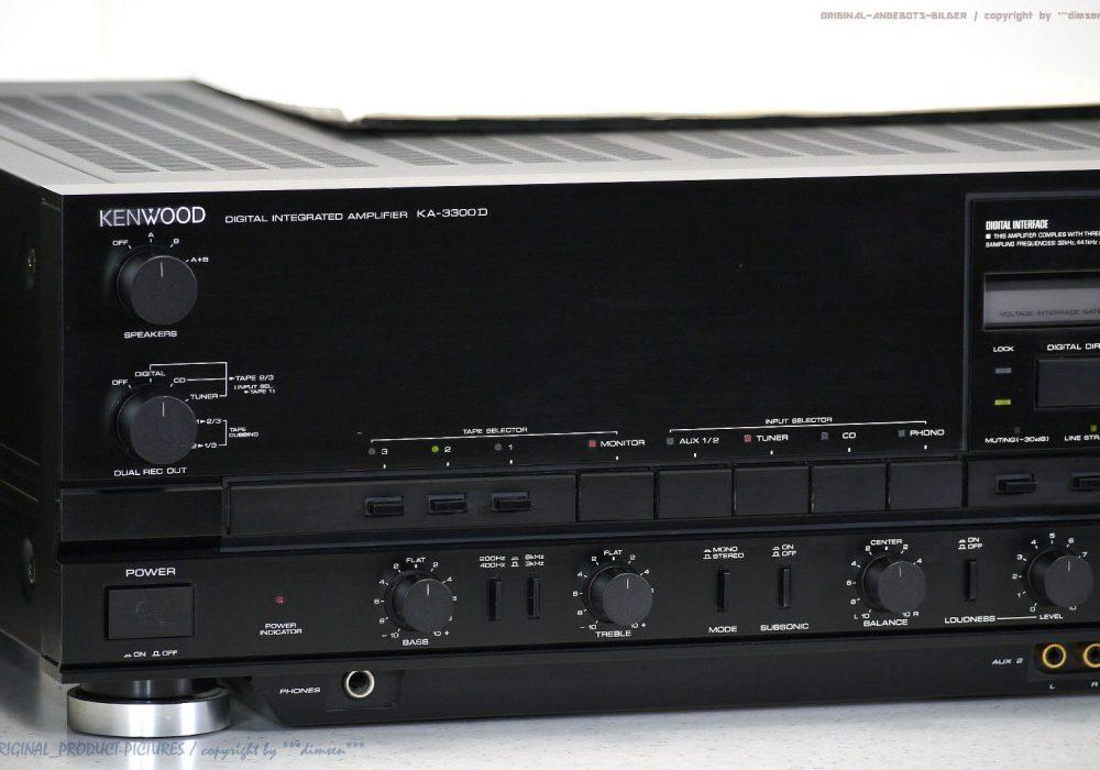 KENWOOD KA-3300D High-End 功率放大器