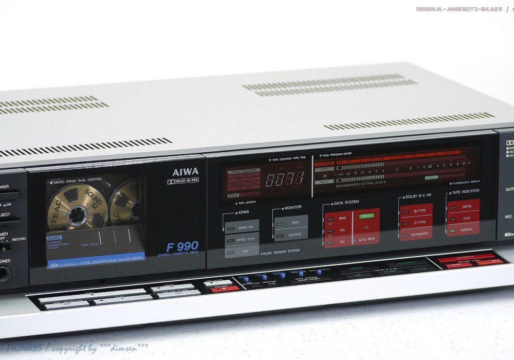 AIWA F990 / AD-F990E 磁带卡座