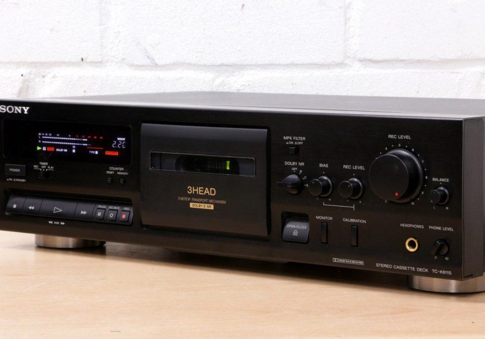 索尼 SONY TC-K611S 双卡座