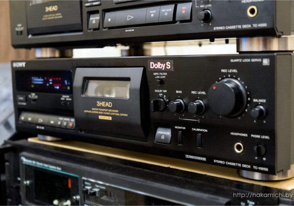 索尼 SONY TC-K815S & TC-K690 卡座