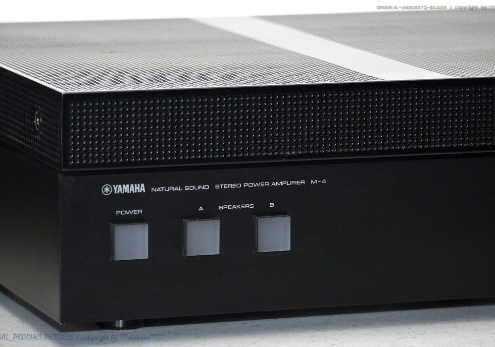 YAMAHA M-4 High-End 功率放大器