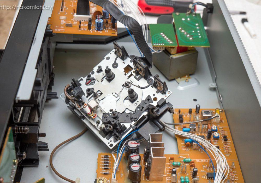 TEAC V-600 卡座 拆解
