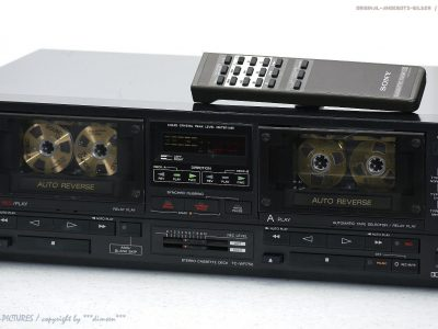 索尼 SONY TC-WR750 High-End 双卡座