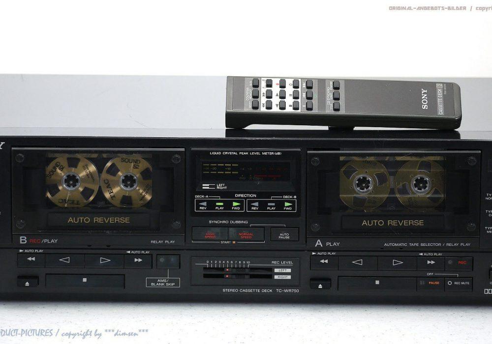 索尼 SONY TC-WR750 High-End 双卡座