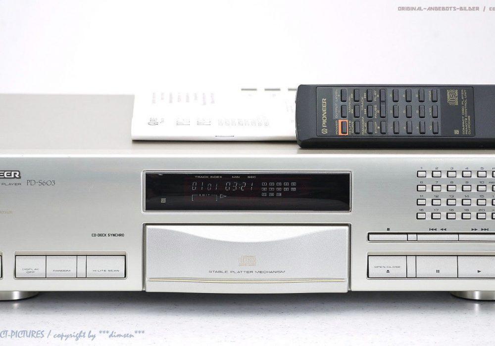 PIONEER PD-S603 CD播放机