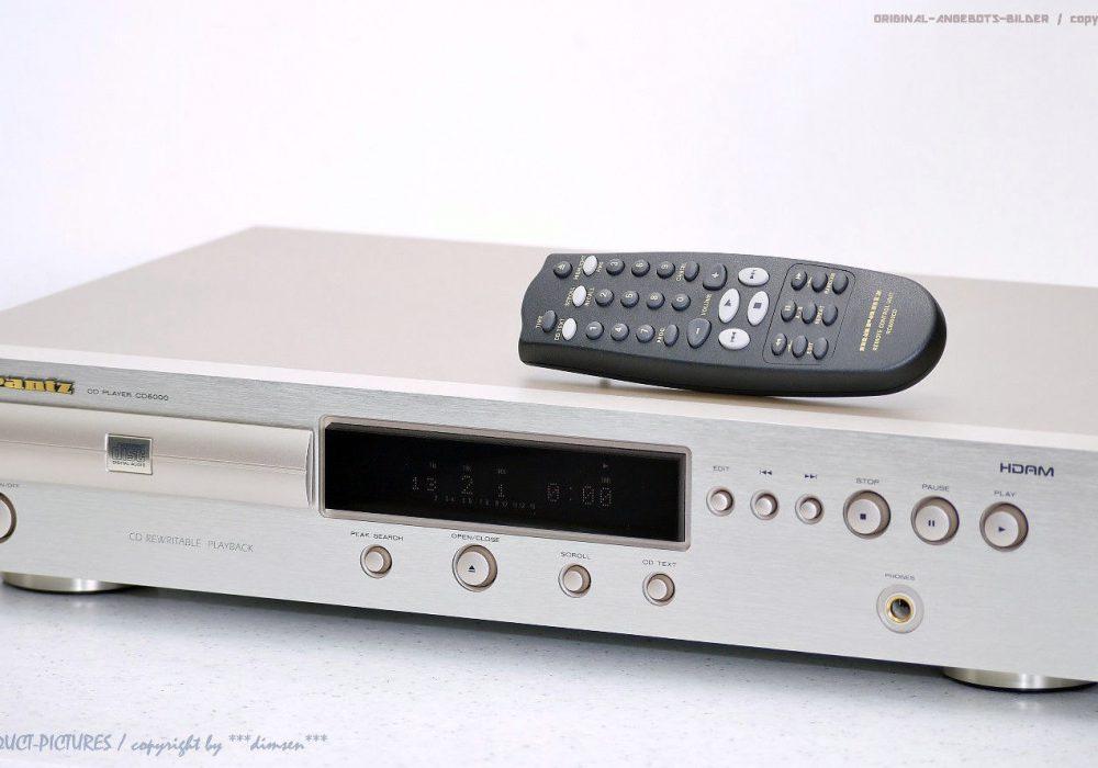 MARANTZ CD6000 High-End CD播放机
