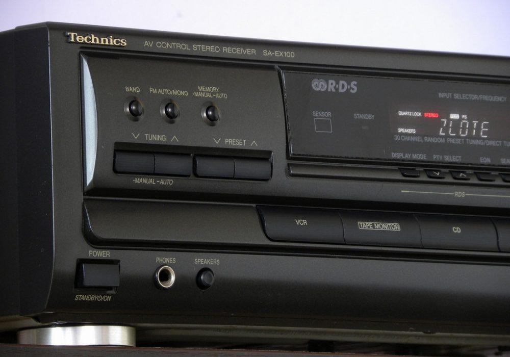 Technics SA-EX100 功率放大器