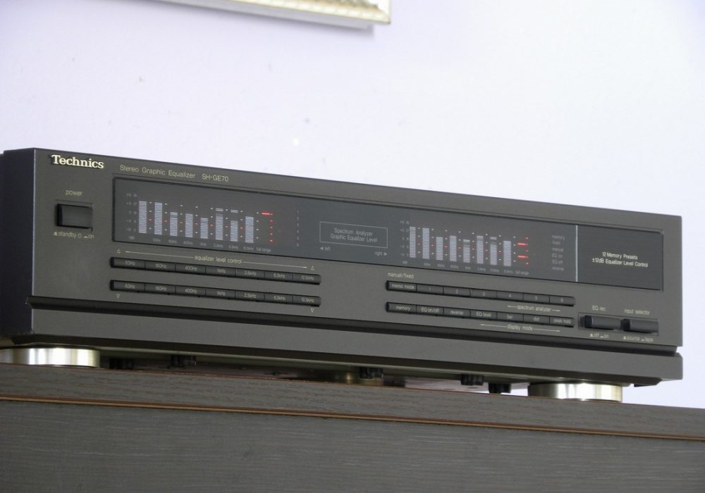 Technics SH-GE70 七段图示均衡器