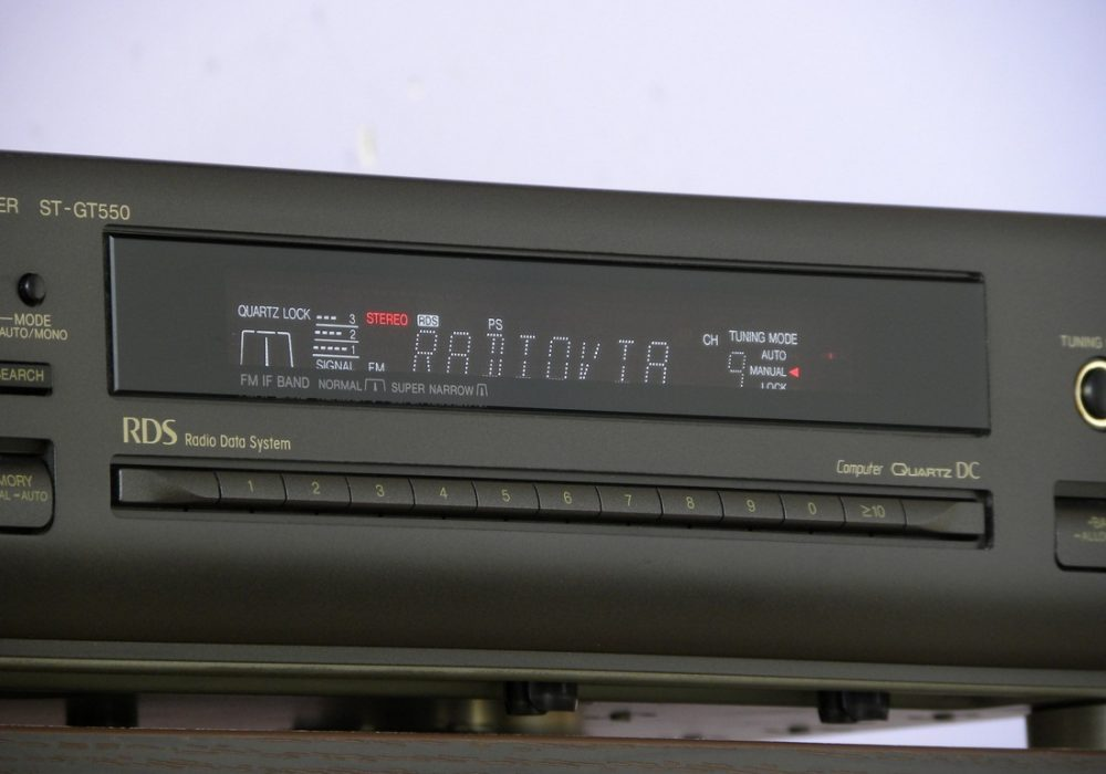 Technics ST-GT550 RDS Tuner 收音头