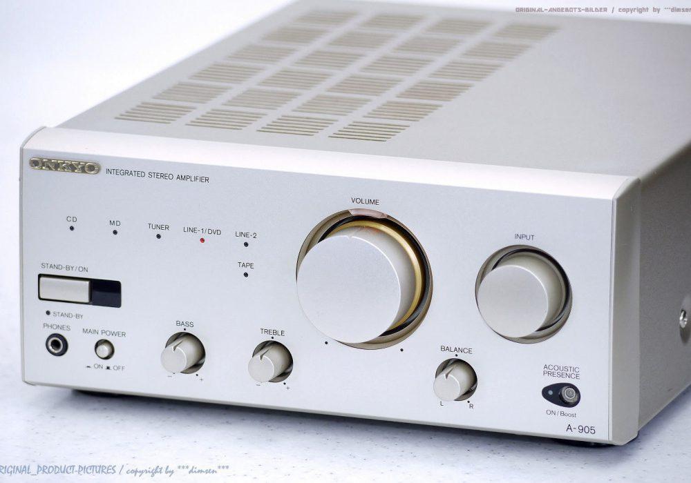 ONKYO A-905 High-End 功率放大器