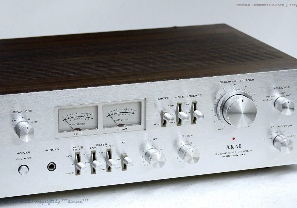 AKAI AM-2600 功率放大器