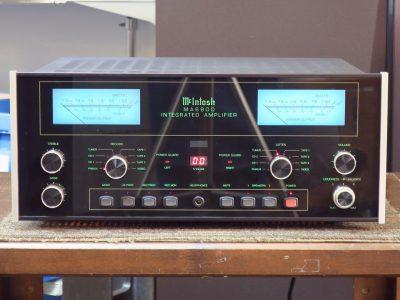 MA6800 McIntosh マッキントッシュ プリメインアンプ(トランジスター)
