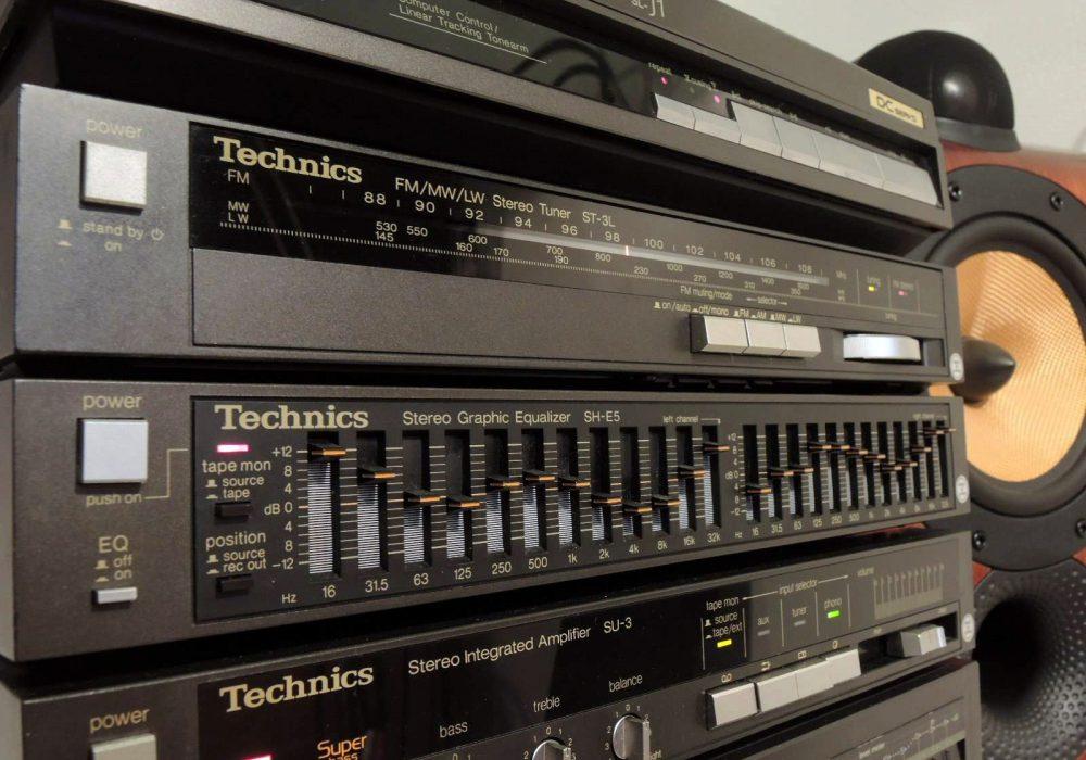 Technics SU-3 / SH-E5 / RS-4 / ST-3L / ST-J1 音响组合