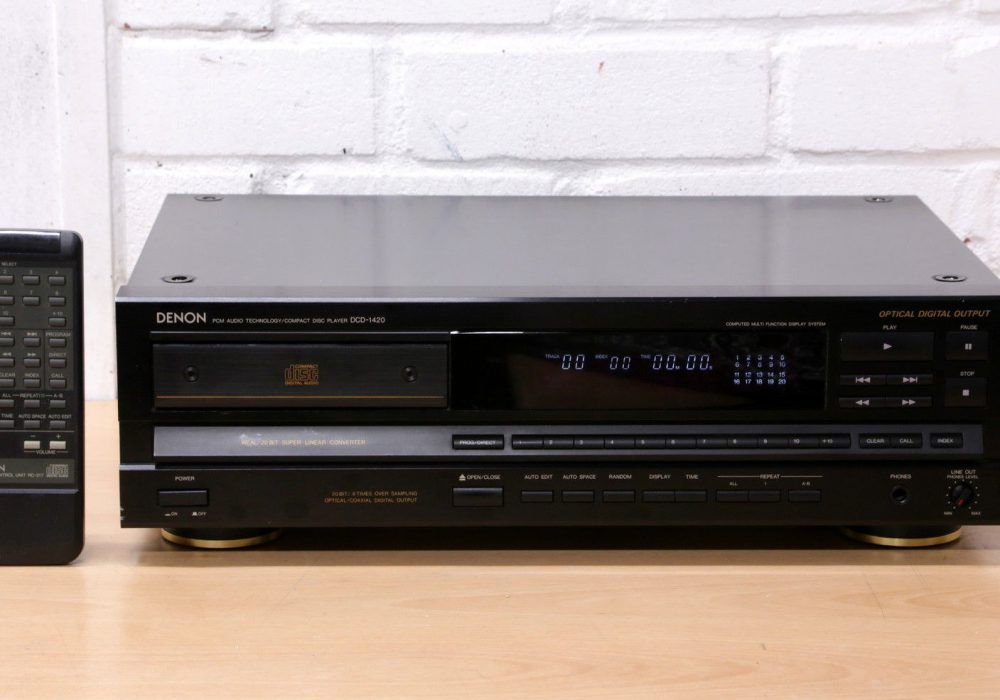 DENON DCD-1420 CD播放机
