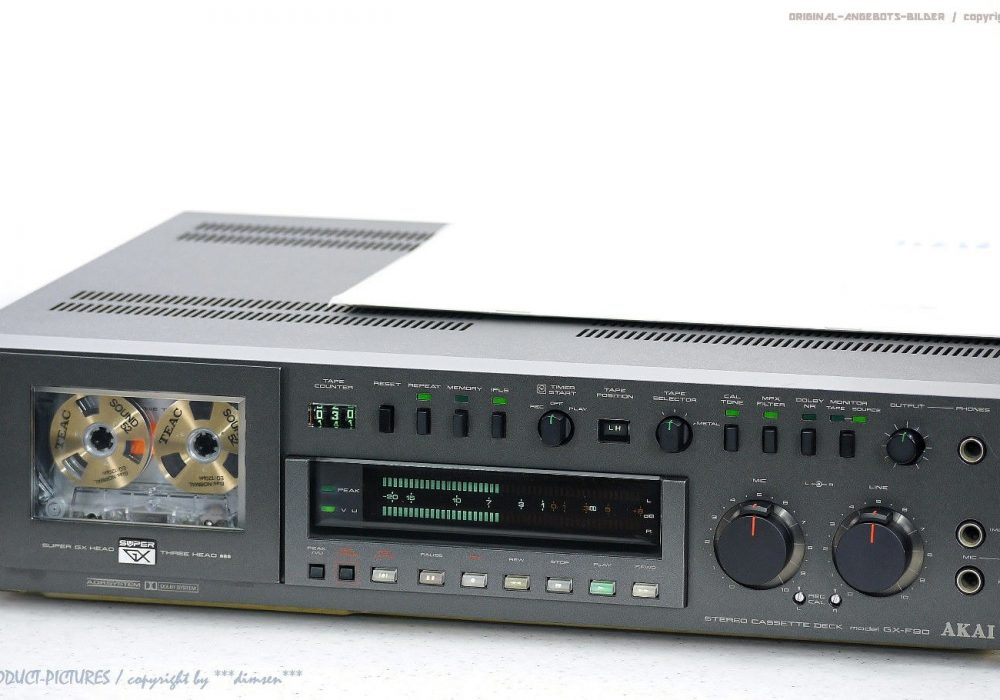 AKAI GX-F90 古董 HighEnd 磁带 Tape 卡座