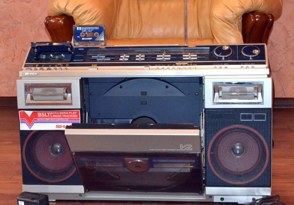 SHARP VZ-V2 黑胶/收录 一体机