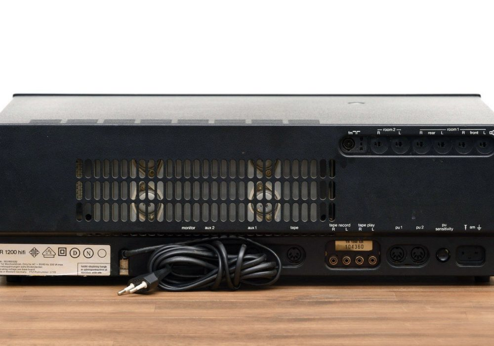 Telefunken TR1200 hifi 收扩机