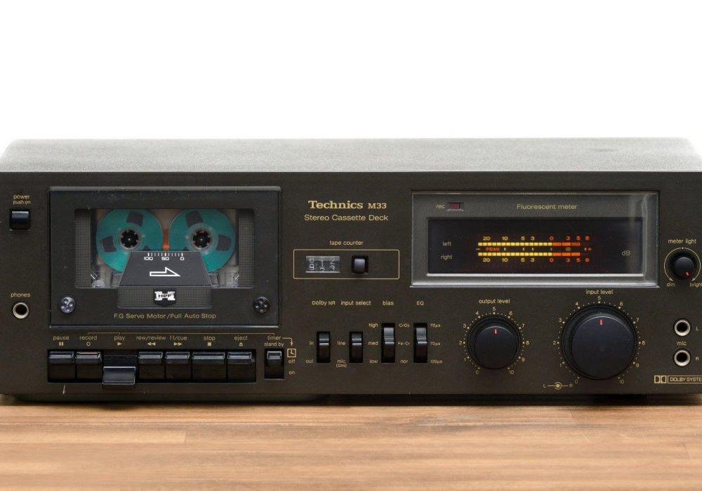 Technics RS-M33 卡座