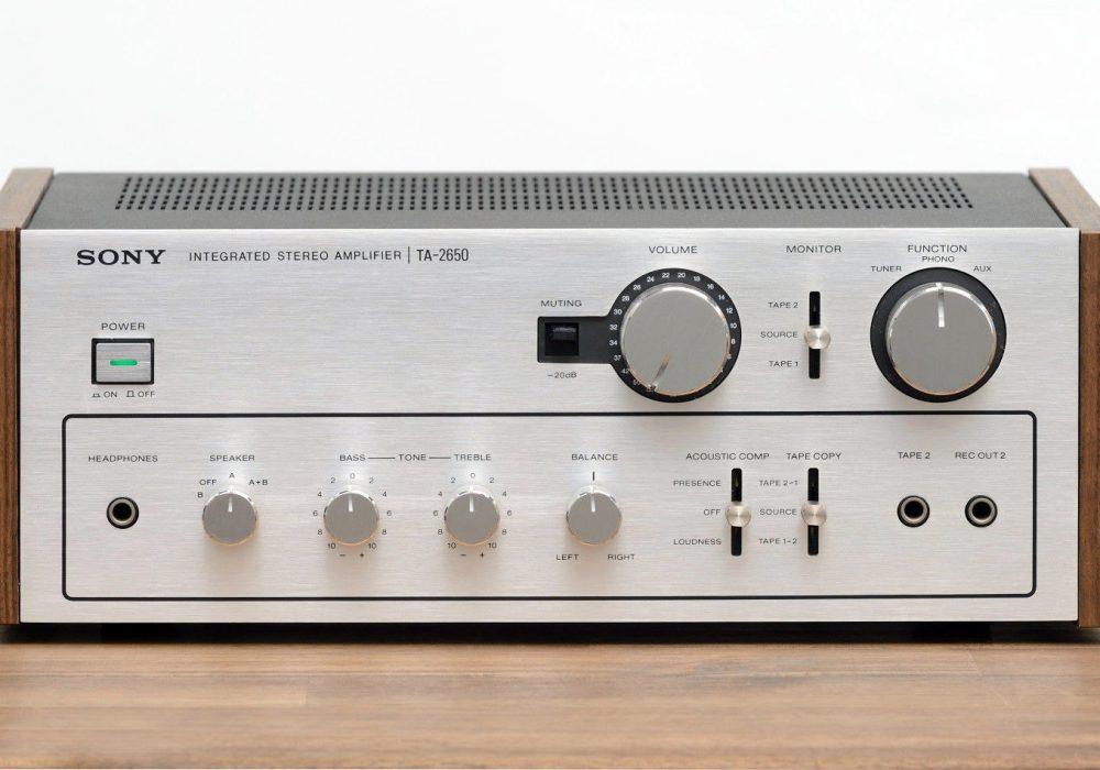 索尼 SONY TA-2650 功率放大器