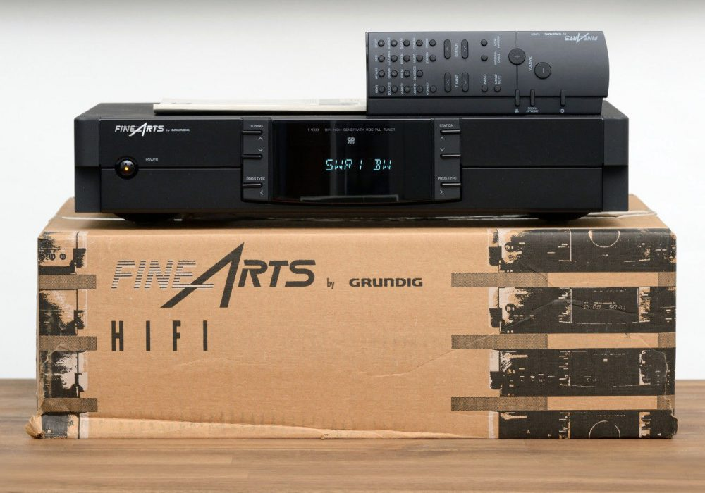 Grundig FineArts T-1000 RDS Tuner 收音头