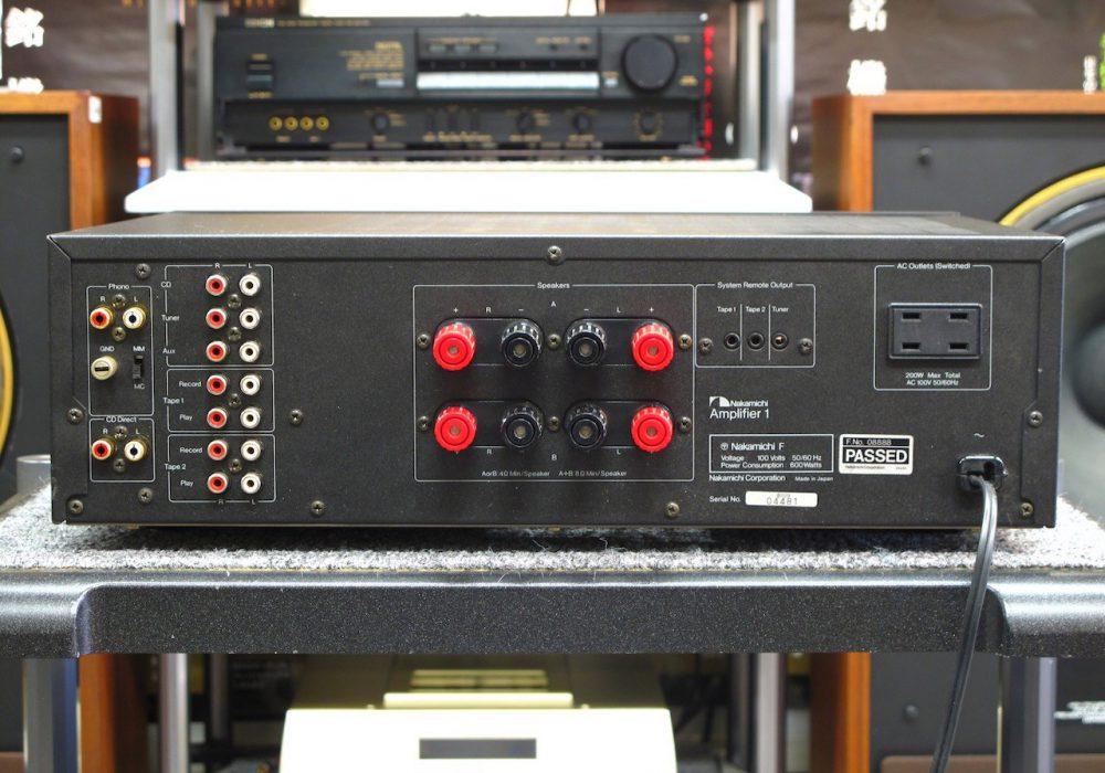 Nakamichi Amplifier 1 功率放大器