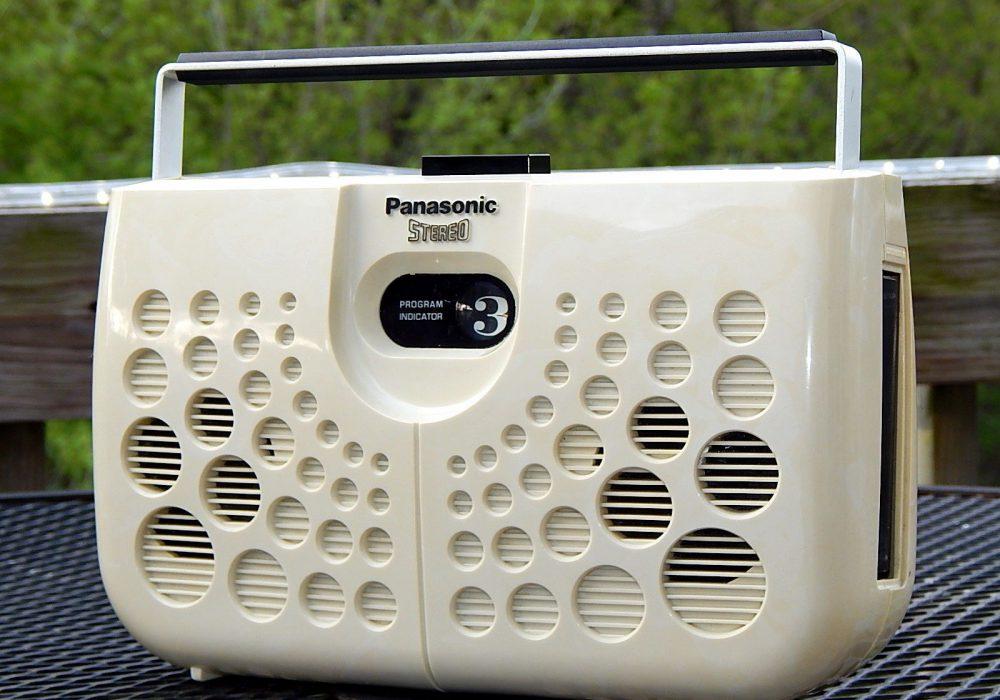 Panasonic RS-833S Swiss Cheese 8轨磁带播放机