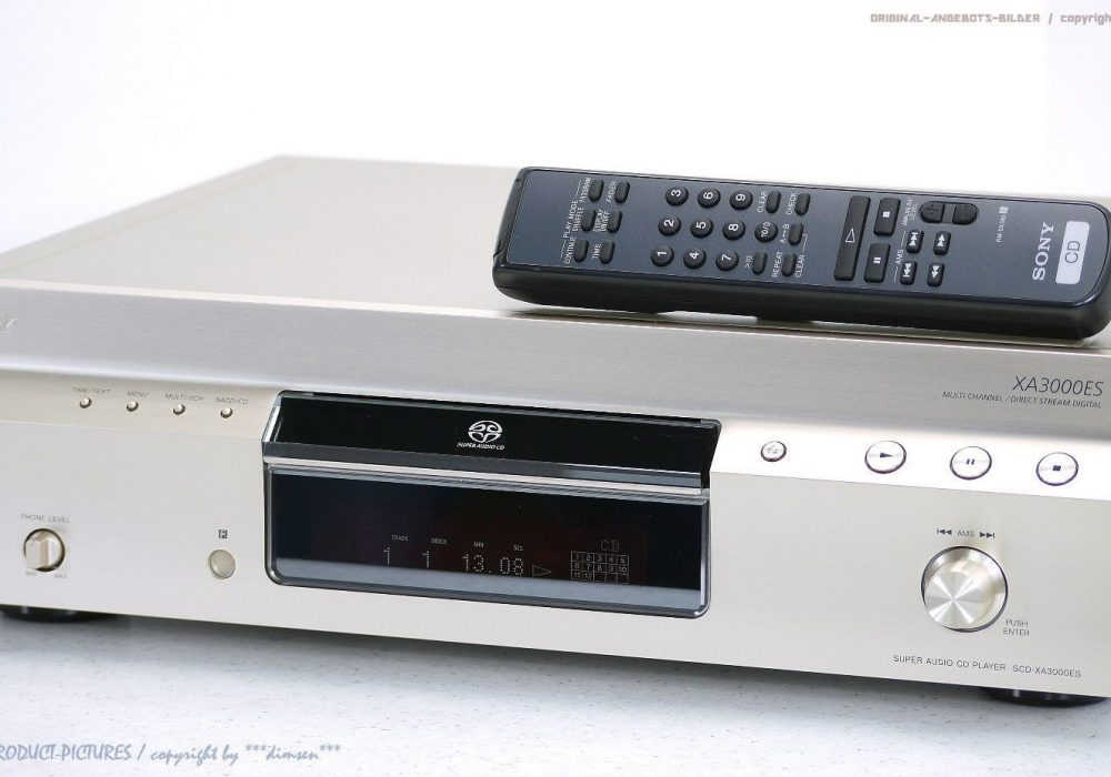 索尼 SONY SCD-XA3000ES High-End CD播放机