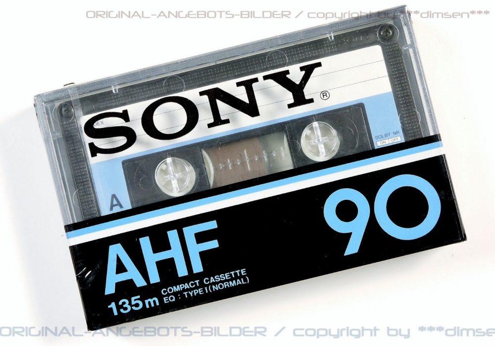 索尼 SONY AHF90 Type-I Audio 盒式录音磁带