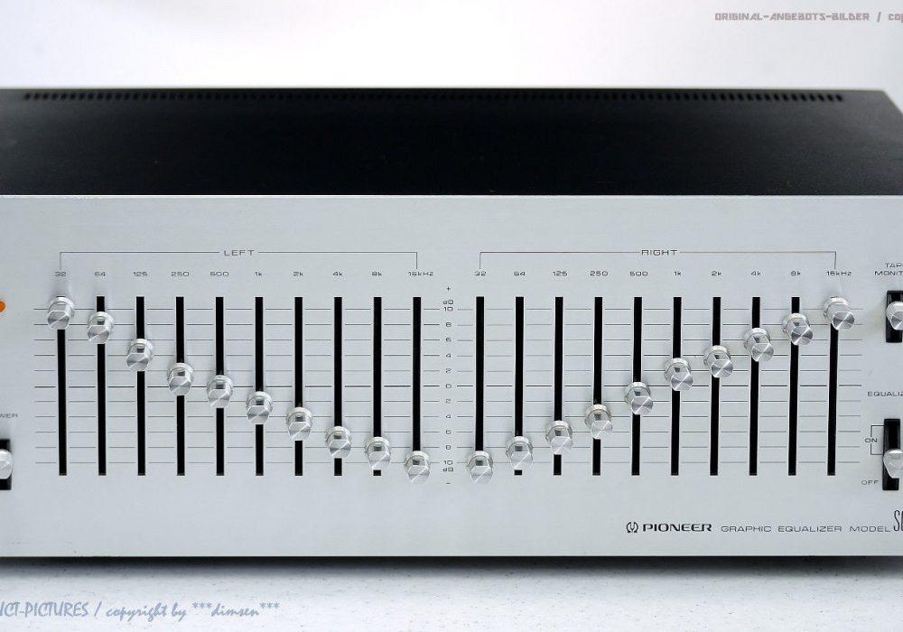 先锋 PIONEER SG-9500 High-End 图示均衡器