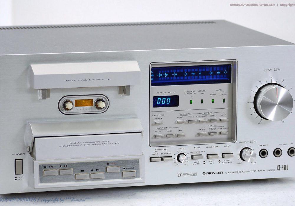 PIONEER CT-F900 古董 High-End 磁带卡座! Revidiert+1J.G<wbr/>arantie! SPEC!!
