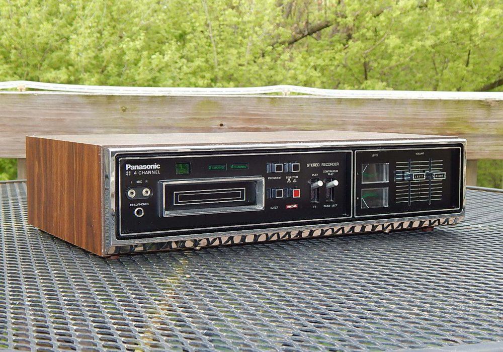 松下 Panasonic RS-855 QUAD 8轨磁带卡座