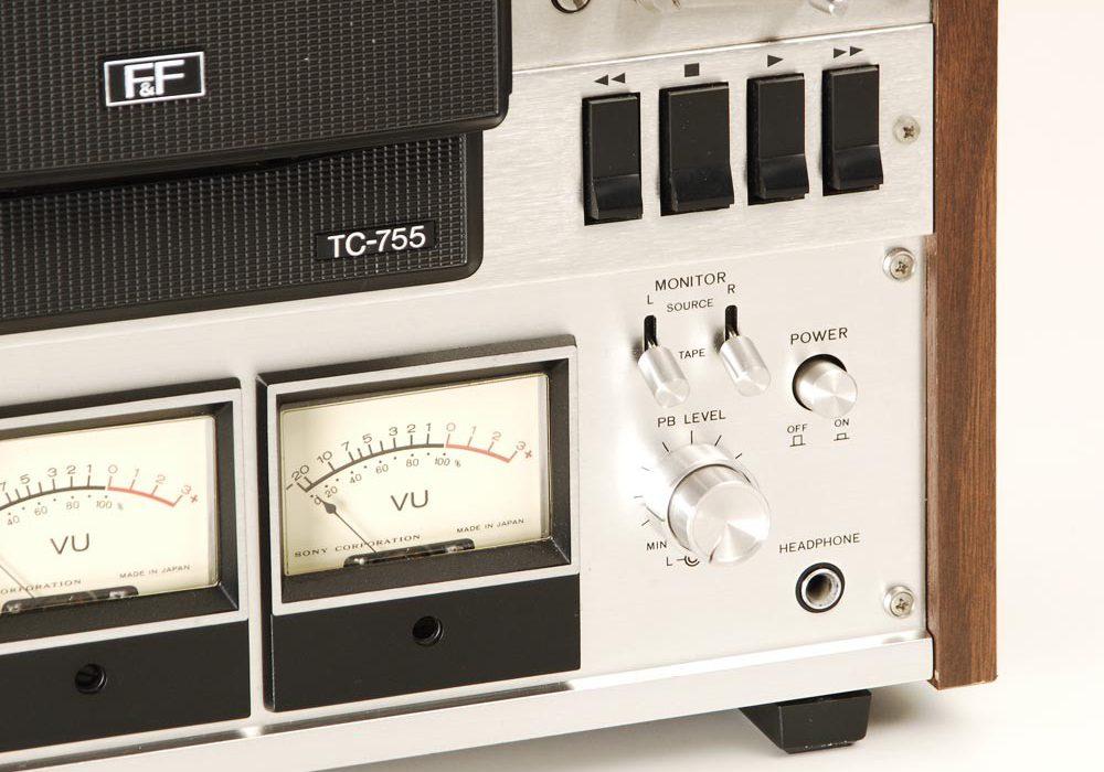索尼 SONY TC-755 开盘机