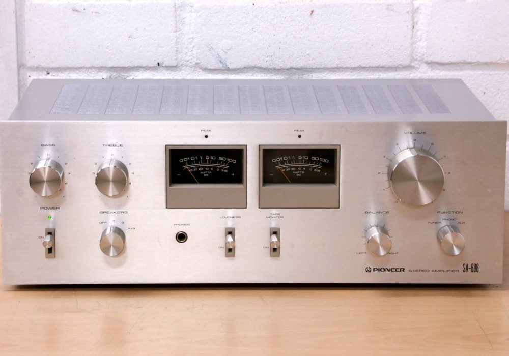 PIONEER SA-606 功率放大器