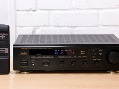 DENON DRA-455 ntegrated Hi-Fi amplifier FM AM receiver Phono input