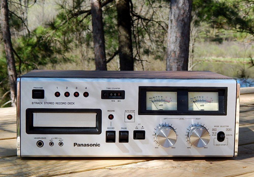 松下 Panasonic RS-808 8轨磁带 卡座