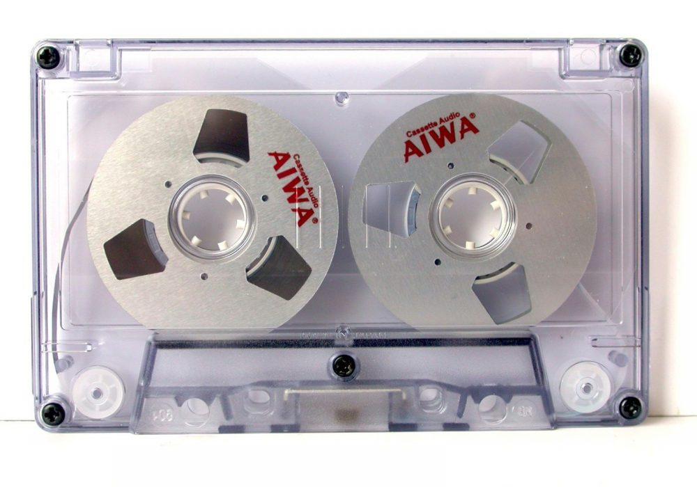 爱华 AIWA Silver Reel to Reel Cassette Tape (DIY作品)