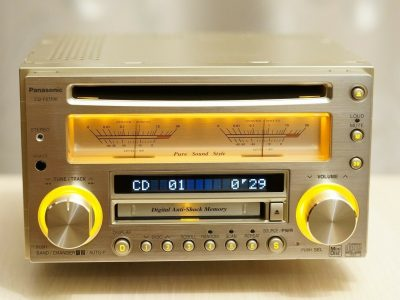 PANASONIC CQ-VX5500 车载 CD/MD播放机