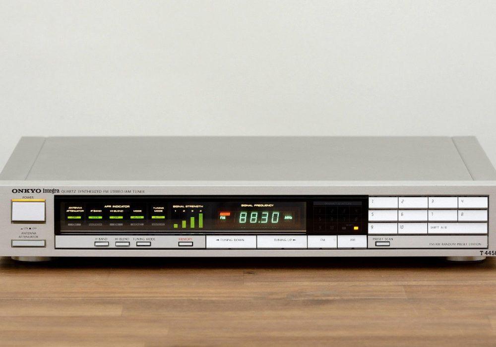 Onkyo T-4450 Synthesized FM/AM 收音头
