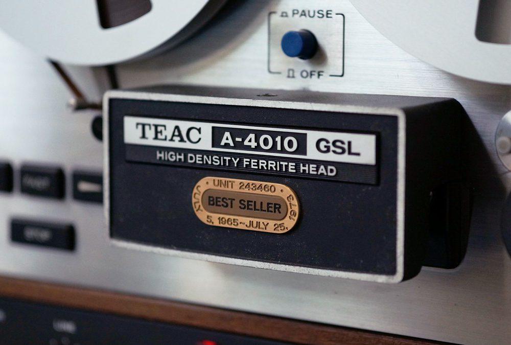 TEAC A-4010 开盘机