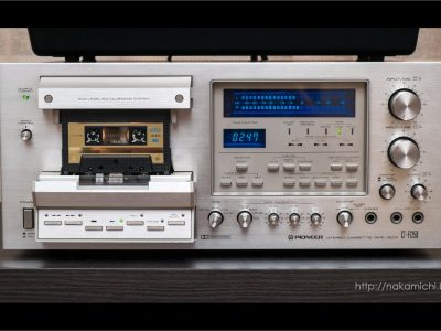 立体声 磁带卡座 先锋 PIONEER CT-F1250