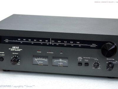 AKAI AT-2400 古董 AM/FM 立体声 Tuner in 1A-Zustand!! Gewartet+1J.Ga<wbr/>rantie!