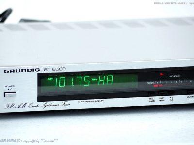GRUNDIG ST6500 AM/FM Quartz Synthesizer 收音头