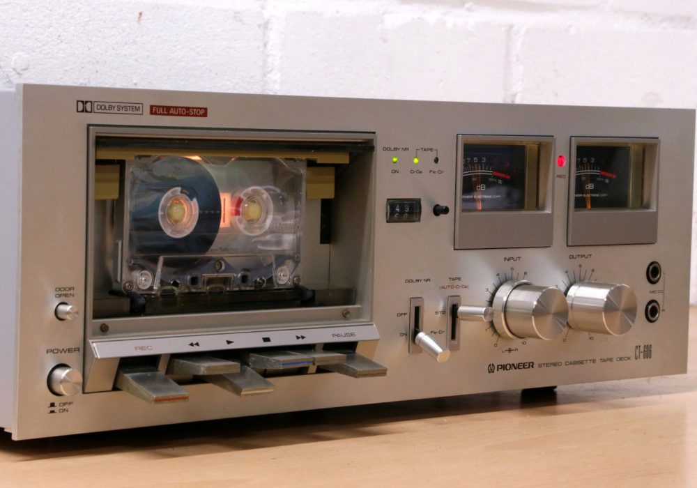 PIONEER CT-606 古董 Hi-Fi analogue cassette tape deck 1970's lovely Dolby NR