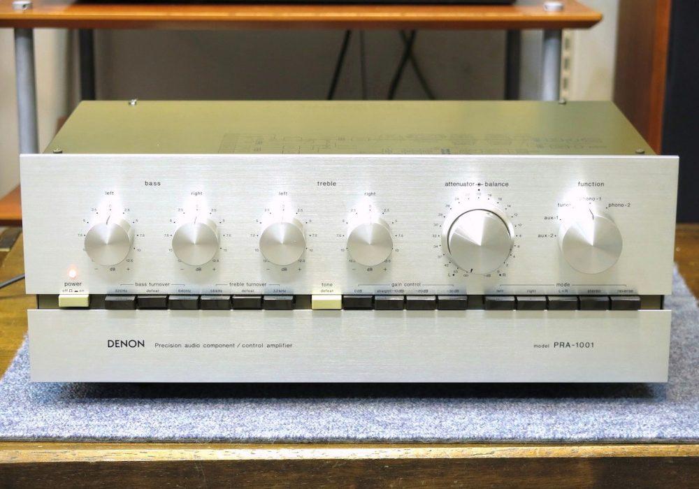 DENON PRA-1001 前级放大器