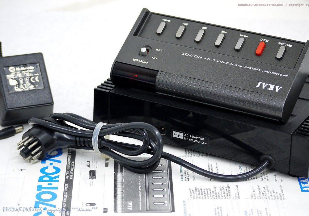 AKAI RC-70 Fernbedienung/<wbr/>Remote Control GX-635D, GX-625, GX-620, GX-255, PRO1000