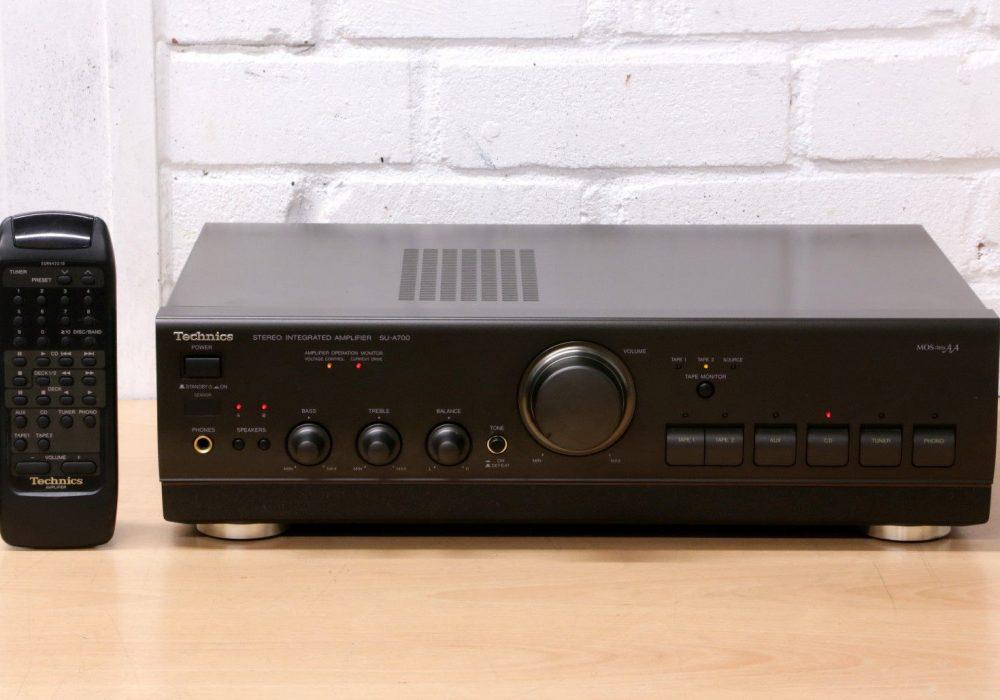 松下 Technics SU-A700 立体声 Integrated HI-Fi Amplifier MOSclass AA Remote