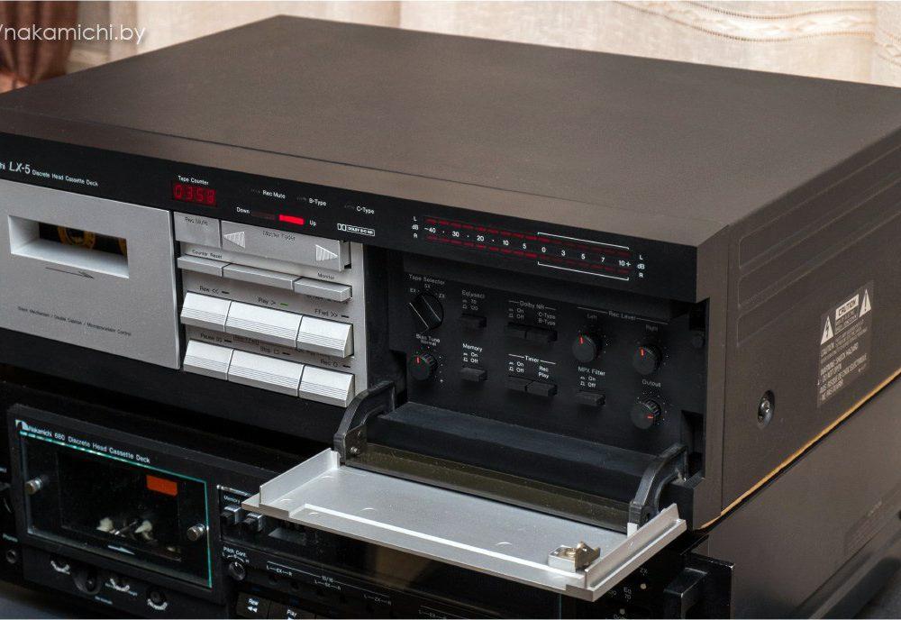 Nakamichi LX-5 磁带卡座