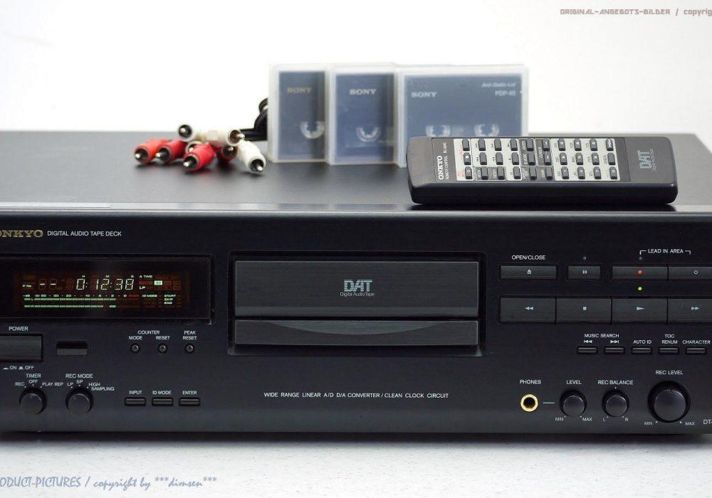 ONKYO DT-2710 High-End DAT-录音机/D<wbr/>igital Audio Tape mit FB!! Top+1j.Garanti<wbr/>e!