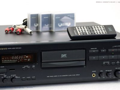 ONKYO DT-2710 High-End DAT-录音机/D<wbr/>igital Audio Tape mit FB!! Top+1j.Garanti<wbr/>e!