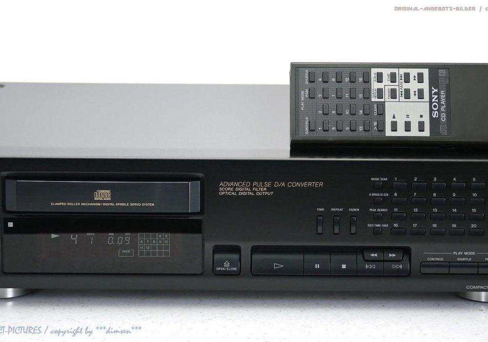 索尼 SONY CDP-715 Hochwertiger CD-Player mit FB in Top-Zustand + 1J.Garantie!!